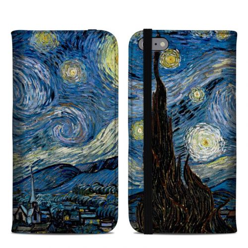 Starry Night iPhone 6s Plus Folio Case