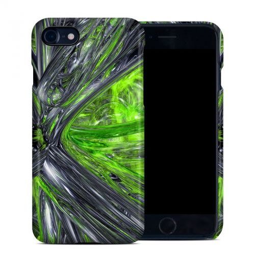 Emerald Abstract iPhone 8 Clip Case