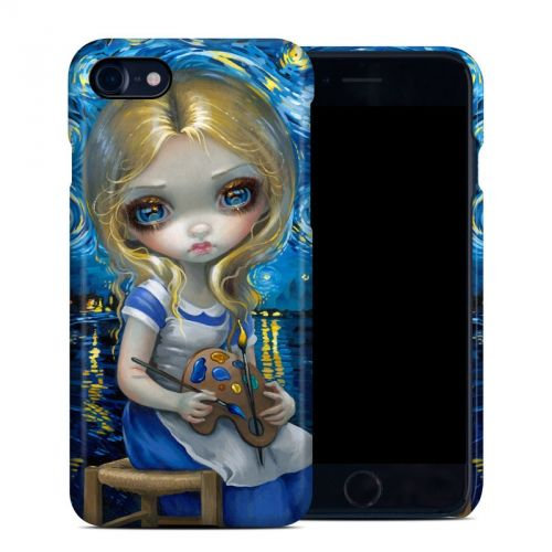 Alice in a Van Gogh iPhone 7 Clip Case