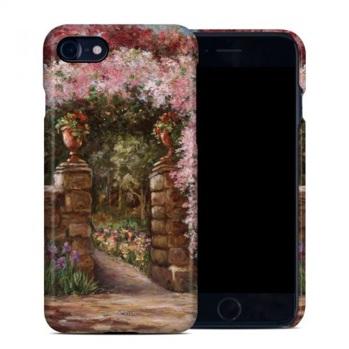 Gate At Alta Villa iPhone 8 Clip Case