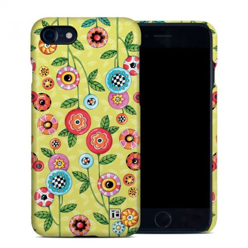 Button Flowers iPhone 7 Clip Case