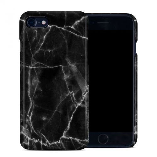 Black Marble iPhone 8 Clip Case