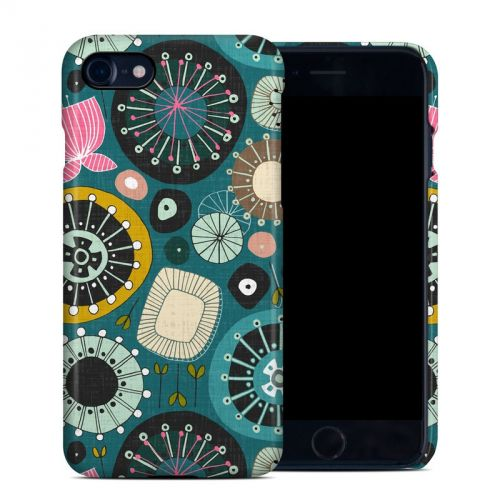 Blooms Teal iPhone 7 Clip Case