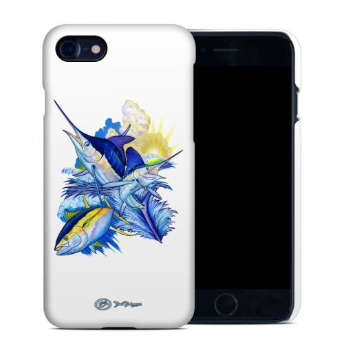 Blue White and Yellow iPhone 8 Clip Case