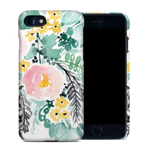Blushed Flowers iPhone 8 Clip Case