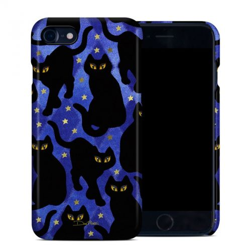 Cat Silhouettes iPhone 7 Clip Case