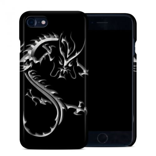 Chrome Dragon iPhone 8 Clip Case