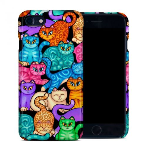 Colorful Kittens iPhone 8 Clip Case