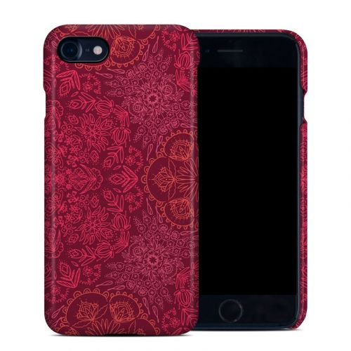 Floral Vortex iPhone 8 Clip Case