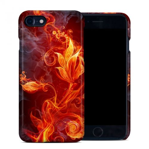 Flower Of Fire iPhone 8 Clip Case