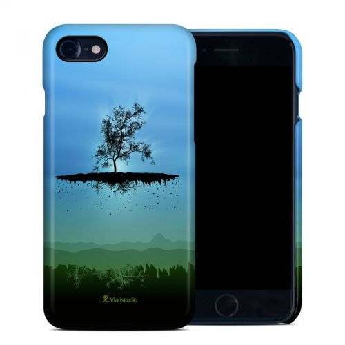Flying Tree Blue iPhone 7 Clip Case