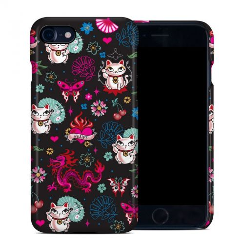 Geisha Kitty iPhone 8 Clip Case
