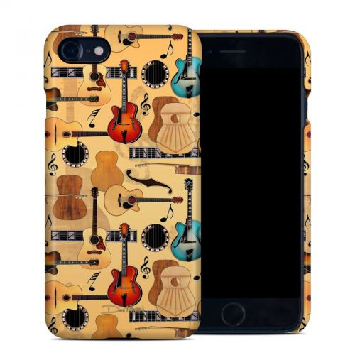Guitar Collage iPhone 8 Clip Case