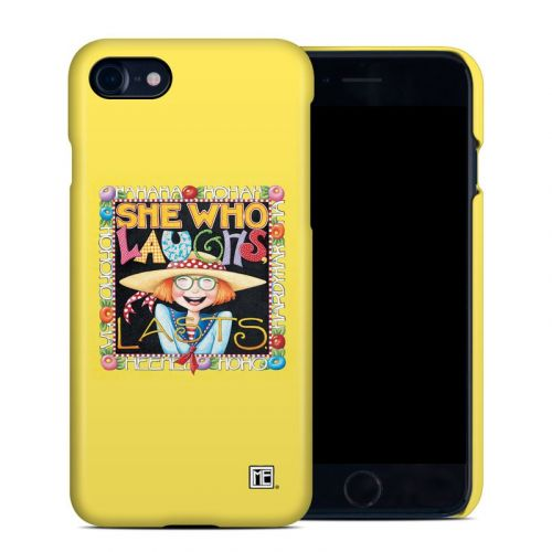 She Who Laughs iPhone 8 Clip Case