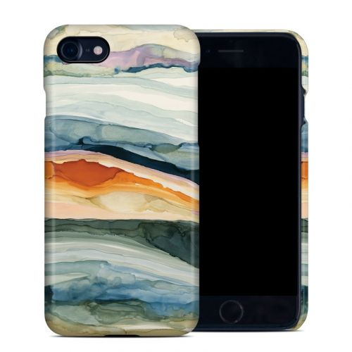 Layered Earth iPhone 8 Clip Case