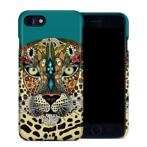 Leopard Queen iPhone 8 Clip Case