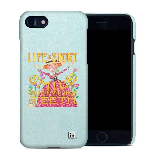 Life is Short iPhone 8 Clip Case