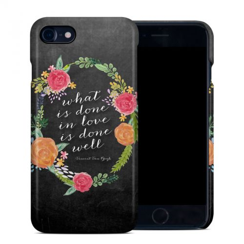 Love Done Well iPhone 8 Clip Case