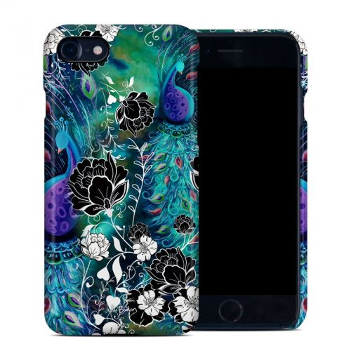 Peacock Garden iPhone 8 Clip Case