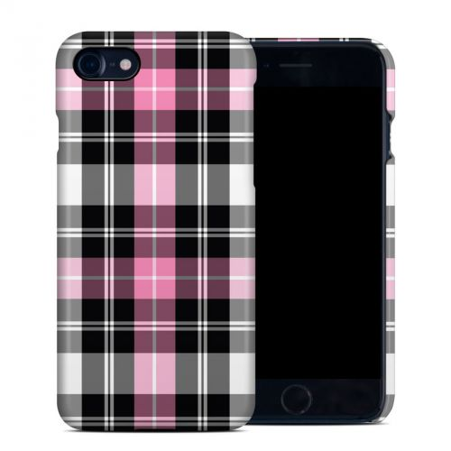 Pink Plaid iPhone 7 Clip Case
