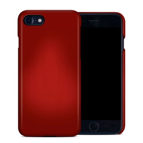 Red Burst iPhone 8 Clip Case