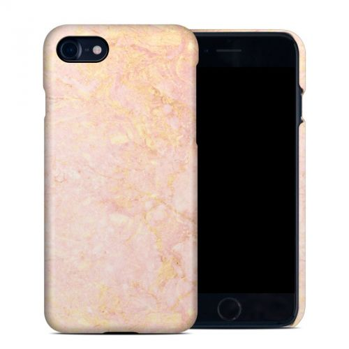 Rose Gold Marble iPhone 8 Clip Case