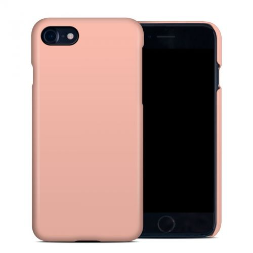 Solid State Peach iPhone 8 Clip Case