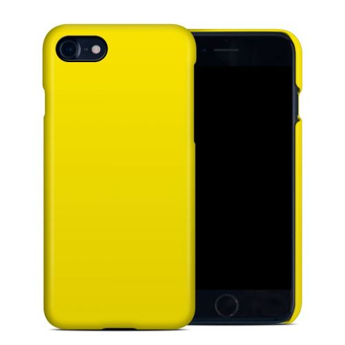 Solid State Yellow iPhone 8 Clip Case