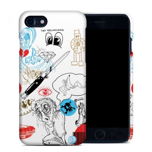 Tattoo Ink iPhone 8 Clip Case