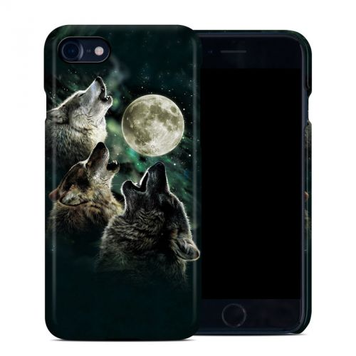 Three Wolf Moon iPhone 8 Clip Case