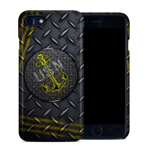 USN Diamond Plate iPhone 8 Clip Case