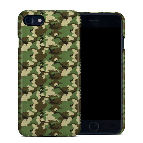 Woodland Camo iPhone 7 Clip Case