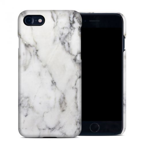 White Marble iPhone 8 Clip Case