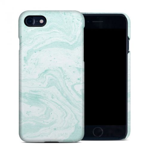 Winter Green Marble iPhone 8 Clip Case