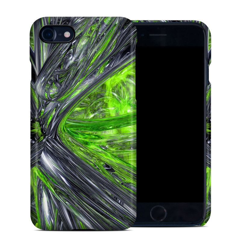 iPhone 8 Clip Case design of Green, Tree, Leaf, Plant, Grass, Terrestrial plant, Botany, Woody plant, Arecales, Vascular plant with green, gray, black colors