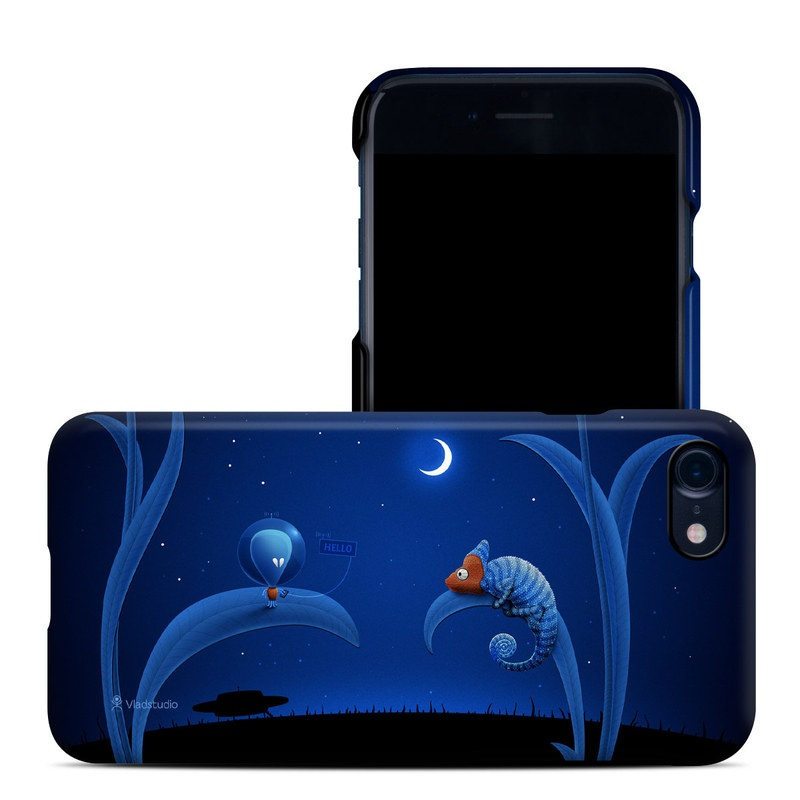 Alien and Chameleon iPhone 8 Clip Case