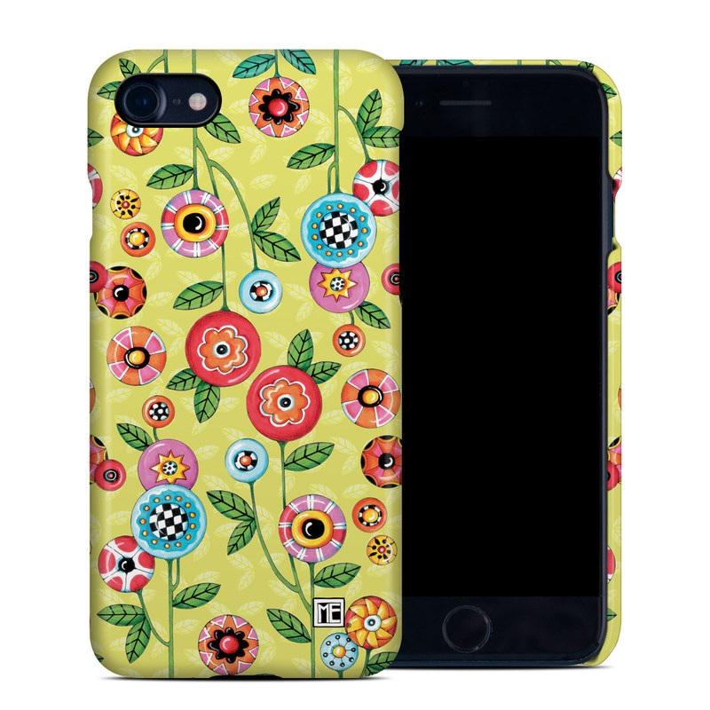 Button Flowers iPhone 7 Clip Case