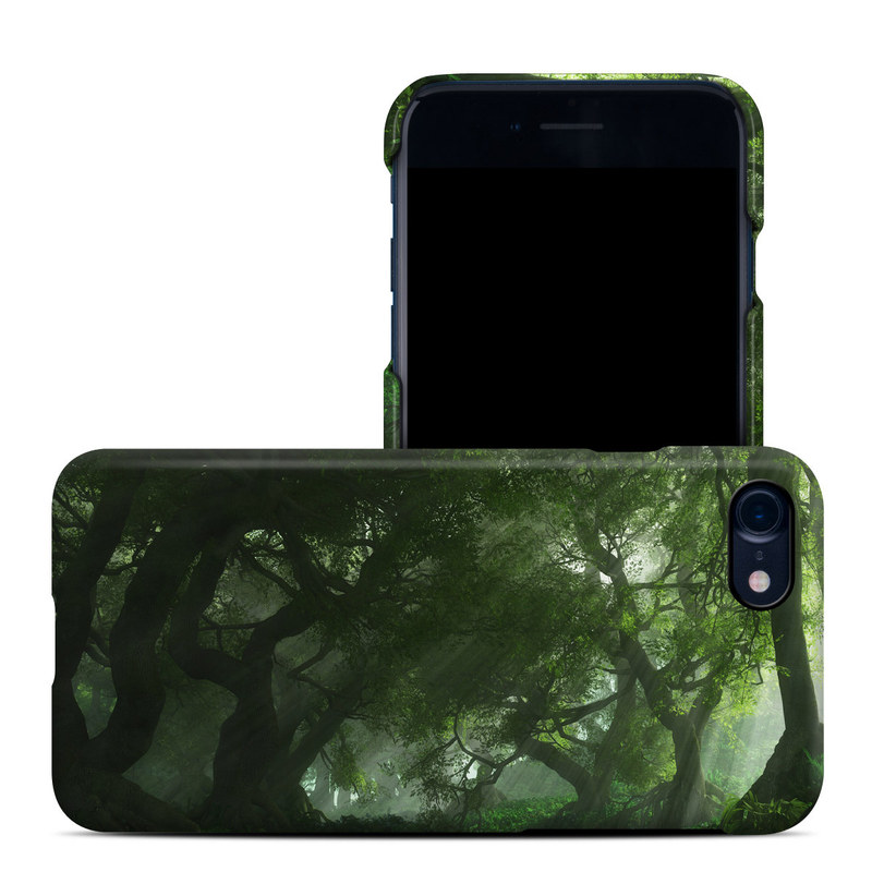 iPhone 8 Clip Case design of Nature, Tree, Natural landscape, Green, Natural environment, Old-growth forest, Vegetation, Forest, Jungle, Nature reserve with green, black colors