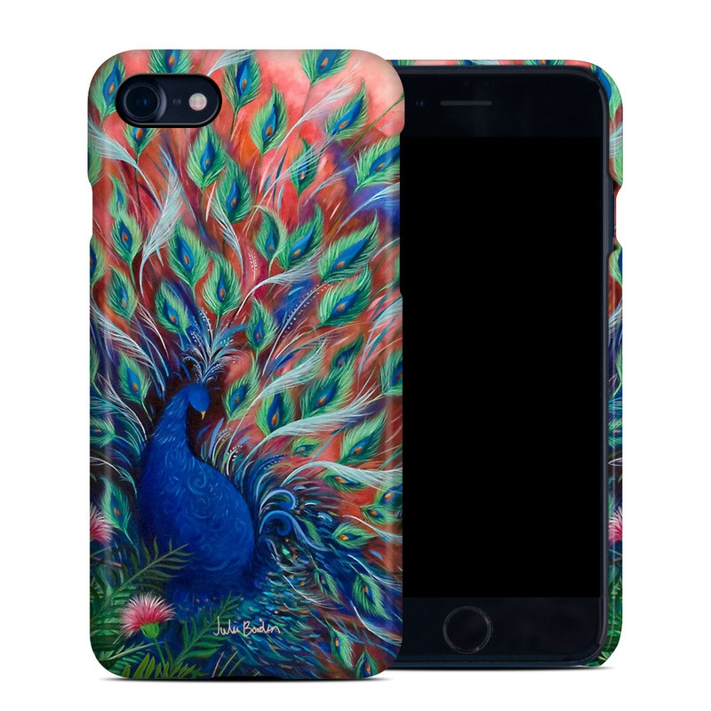 Coral Peacock iPhone 7 Clip Case