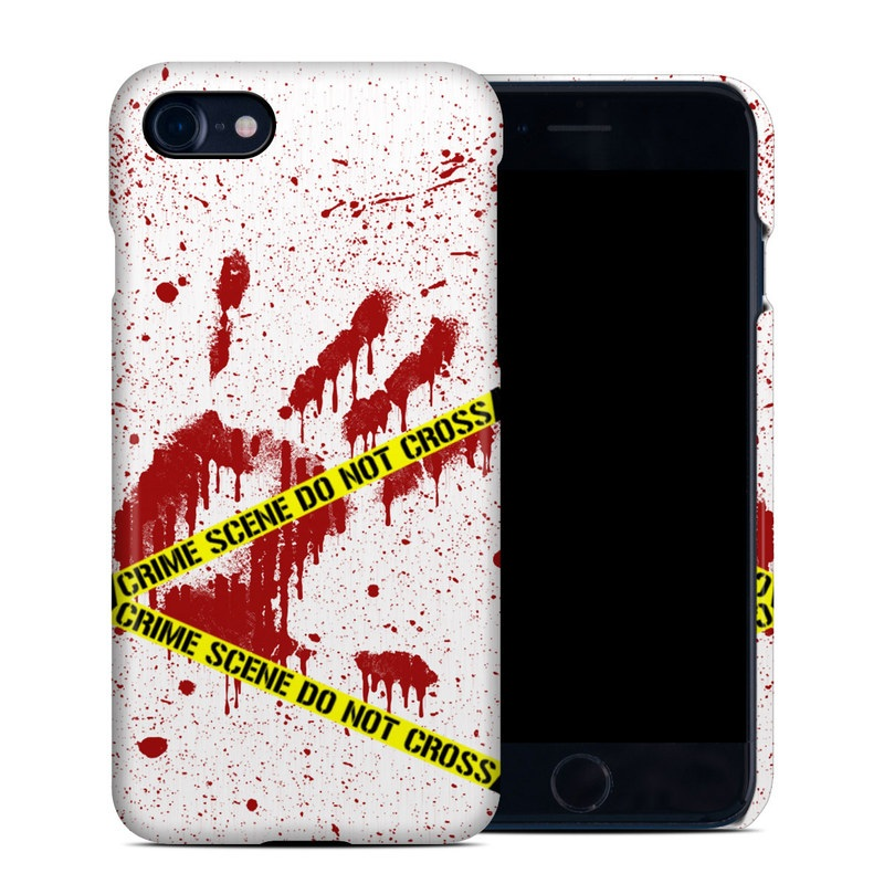 Crime Scene Revisited iPhone 8 Clip Case