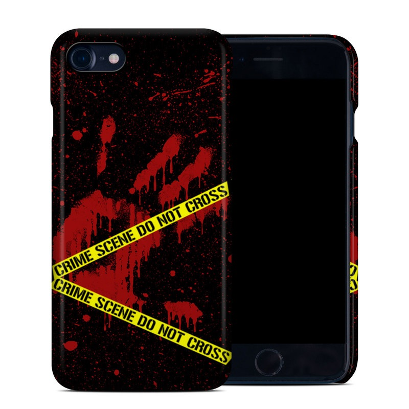 Crime Scene iPhone 8 Clip Case