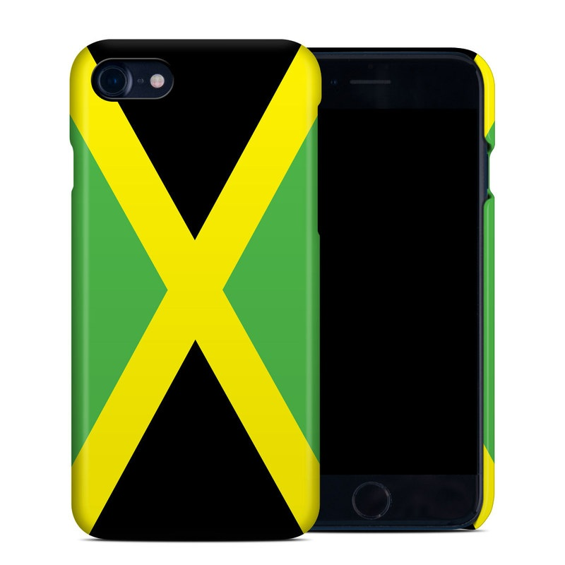 Jamaican Flag iPhone 7 Clip Case