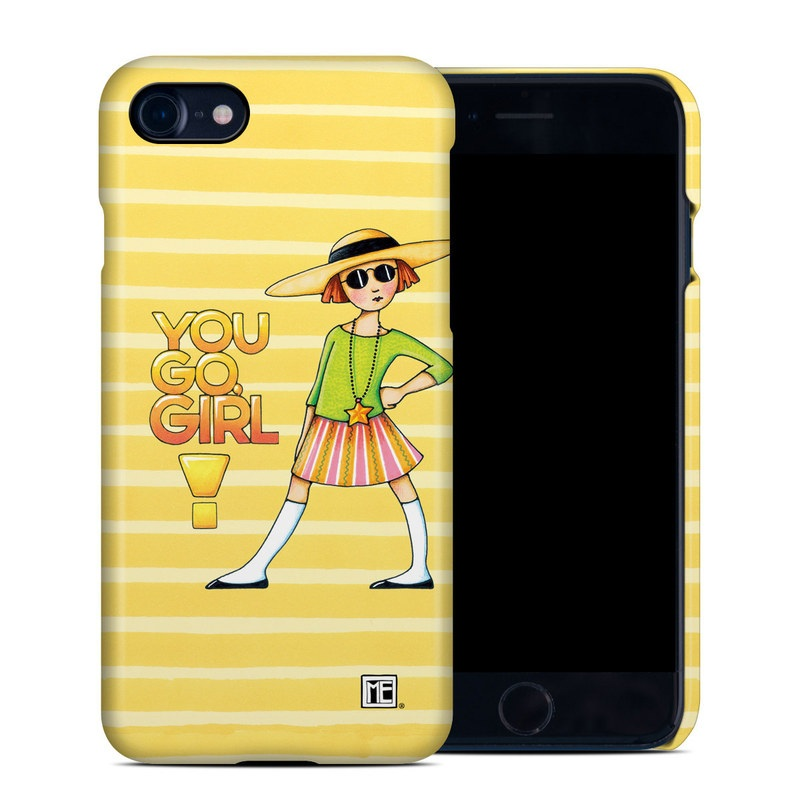 You Go Girl iPhone 8 Clip Case