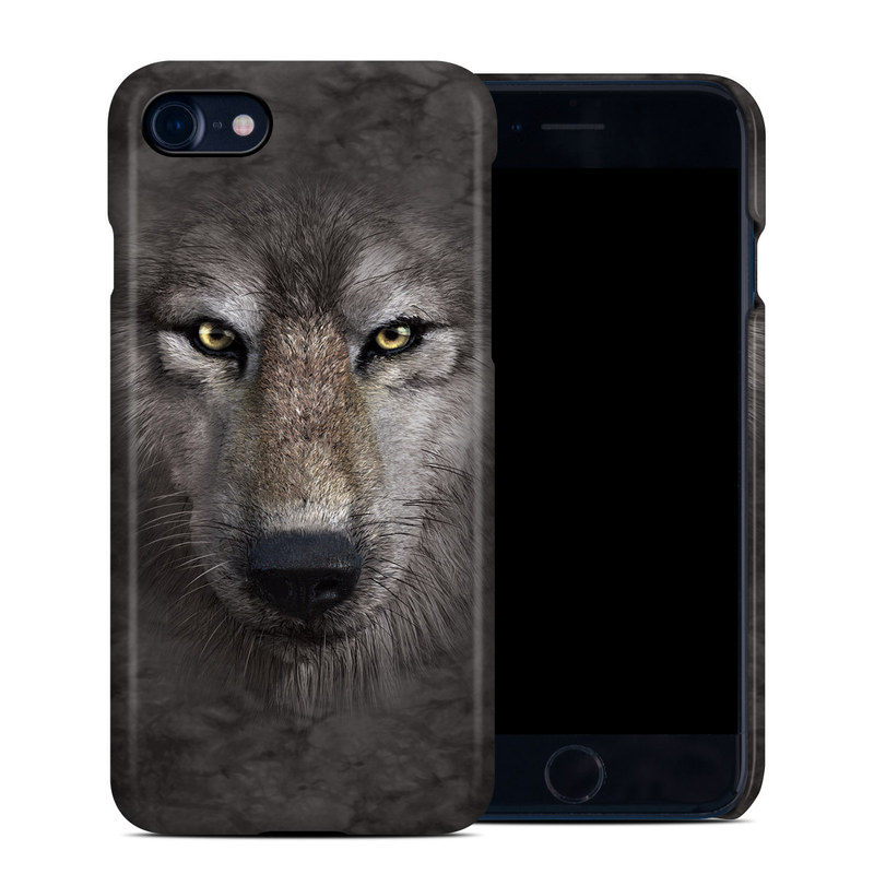 Grey Wolf iPhone 8 Clip Case
