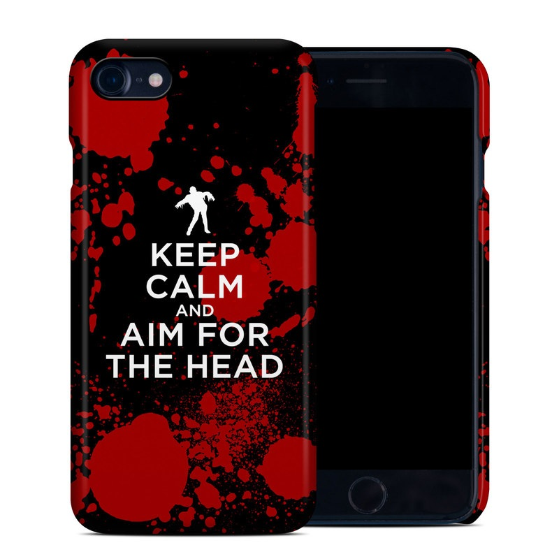 Keep Calm - Zombie iPhone 7 Clip Case