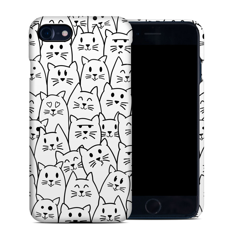 Moody Cats iPhone 8 Clip Case