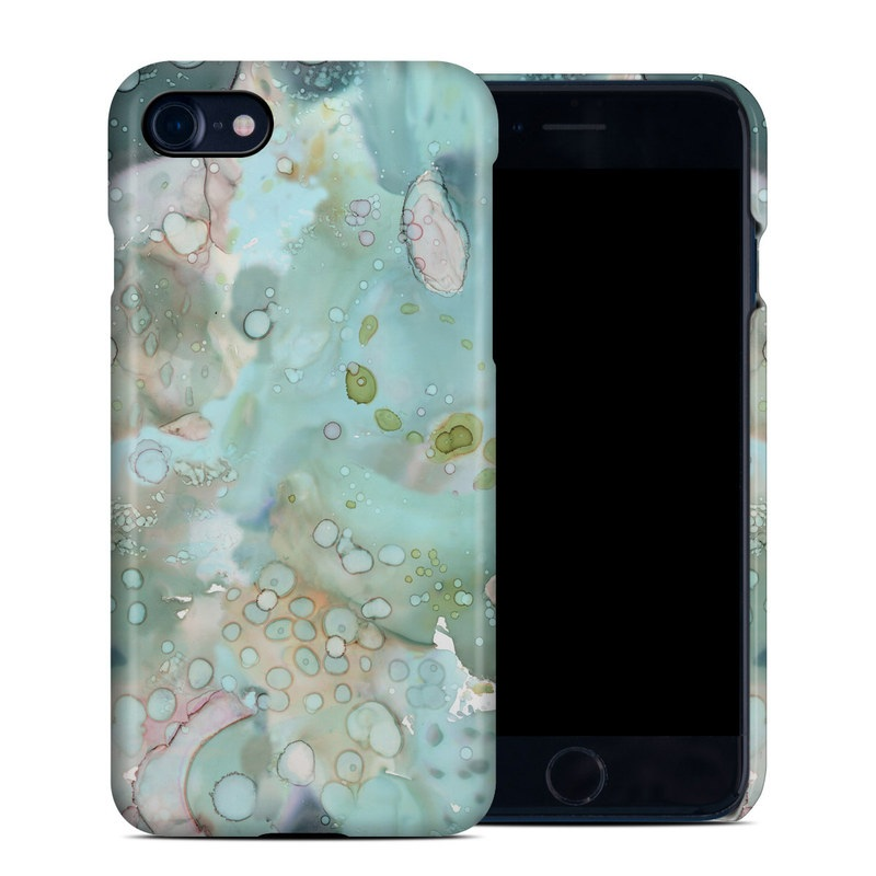 Organic In Blue iPhone 8 Clip Case
