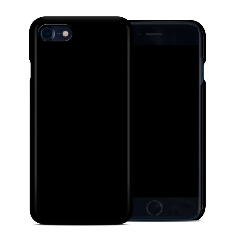 Solid State Black iPhone 7 Clip Case