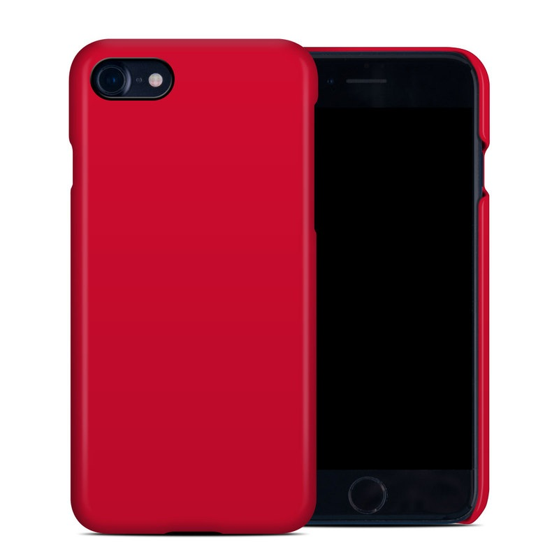 Solid State Red iPhone 8 Clip Case