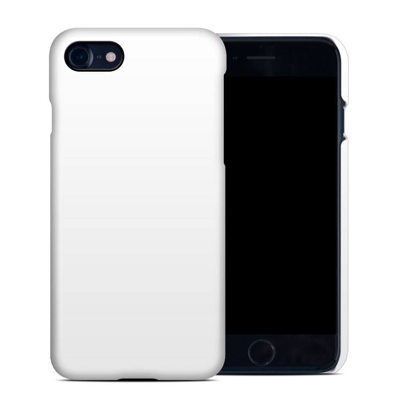iPhone 8 Clip Case design of White, Black, Line with white colors